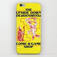 The Upside Down Demogorgon - Stranger Things Have Happened iPhone & iPod Skin