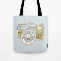 Travel Canon Tote Bag