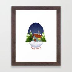 Happy Holidays 2012 Framed Art Print