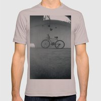 Bike Mens Fitted Tee Cinder SMALL