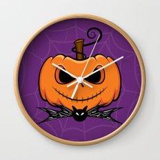 Pumpkin King Wall Clock