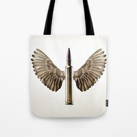 Caliber 30 Bird Tote Bag