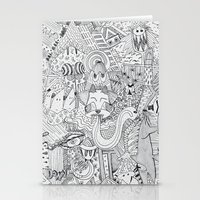 Monsters In My Closet Stationery Cards