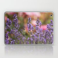 Lavender flowers Laptop & iPad Skin