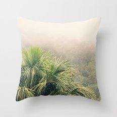 Rainforest Fog Throw Pillow