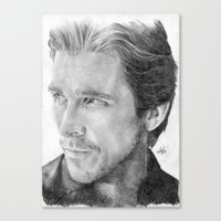 Christian Bale Tradition… Canvas Print