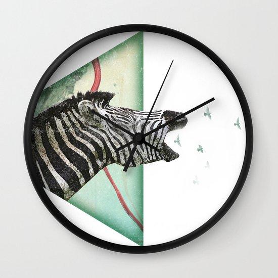 roaring silence Wall Clock