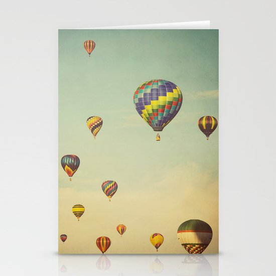 Floating in Space Stationery Card