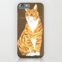 Ginger cat iPhone 6 Slim Case