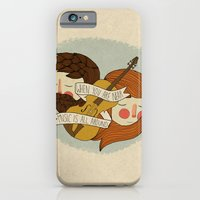 iPhone & iPod Case featuring Music Is All Around by Nan Lawson