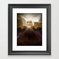 Entering Oblivion (Reprise) Framed Art Print