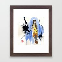 Standing Framed Art Print