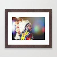 ThunderCat Framed Art Print