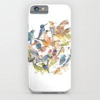 iPhone & iPod Case featuring Bird Circle by Meg Ashford