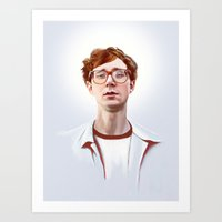 Erlend Øye, Kings of Convenience / The Whitest Boy Alive Art Print