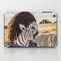 Zebra Girl iPad Case