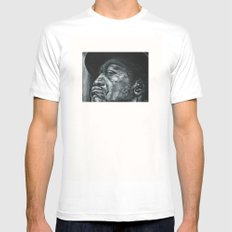 shadow part2 White Mens Fitted Tee SMALL