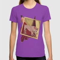 Still Life # 11 Womens Fitted Tee Ultraviolet SMALL