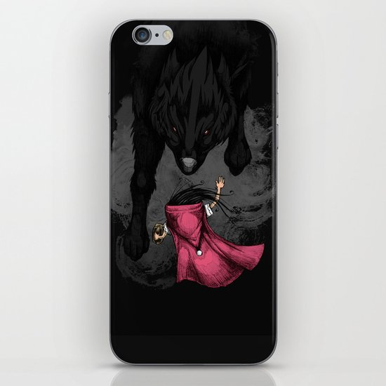 Big Bad Wolf iPhone & iPod Skin