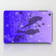 Twilight Bluejay iPad Case