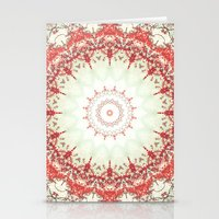 Autumn's Splendor Mandal… Stationery Cards