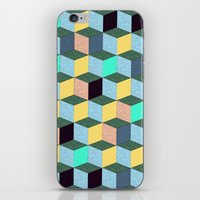 Cubic Plaything iPhone & iPod Skin