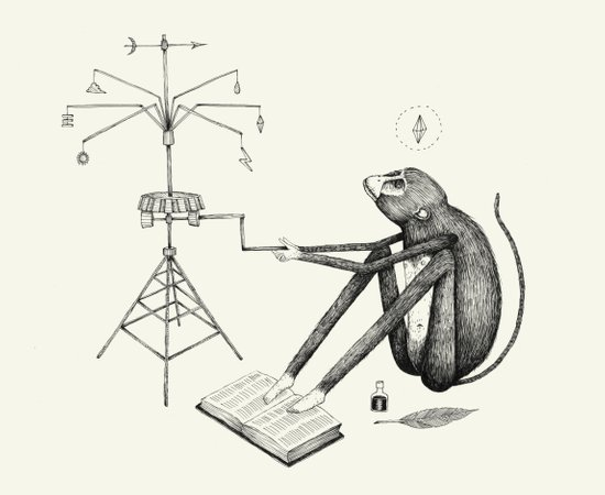 'Weather Machine' Art Print