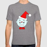 Funny Head Clenching Tee… Mens Fitted Tee Tri-Grey SMALL
