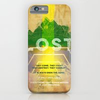 iPhone & iPod Case featuring LOST by Michael Scott Murphy