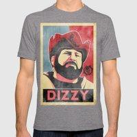 Dizzy 'Diz' Wallin Mens Fitted Tee Tri-Grey SMALL