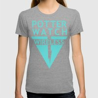 Potterwatch Wireless Womens Fitted Tee Tri-Grey SMALL