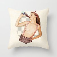 Miss Mississippi Throw Pillow
