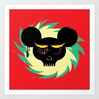 rat poison Art Print