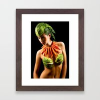 Healthy Eating Framed Art Print