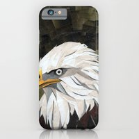 iPhone & iPod Case featuring Eagle! by GiGi Garcia Collages
