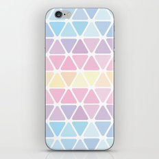 Triangle Pastel iPhone & iPod Skin