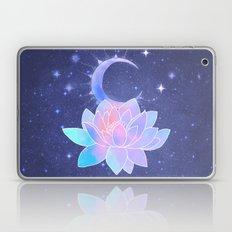 moon lotus flower Laptop & iPad Skin
