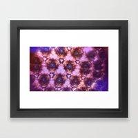 Kaleidoscope in Pink Framed Art Print
