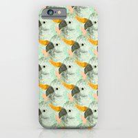 Parrots Print (Coral) iPhone 6 Slim Case