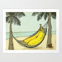 Honeymoon Art Print