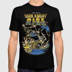 Dark Knight Rises Mens Fitted Tee Black SMALL