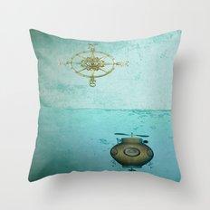 VINTAGE-Navigators Throw Pillow