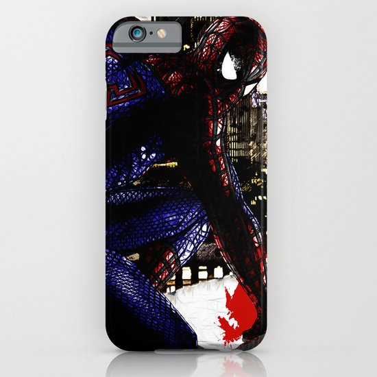 Spiderman in London Close up iPhone & iPod Case