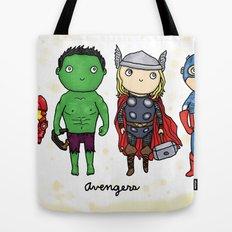 Super Cute Heroes: Avengers! Tote Bag