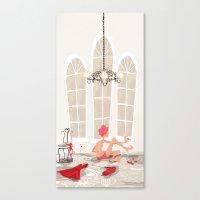 Nail Polish Canvas Print