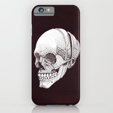 Human skull iPhone 6 Slim Case