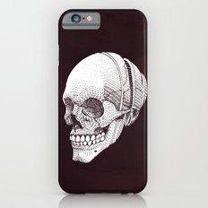 Human skull iPhone 6 Slim Case