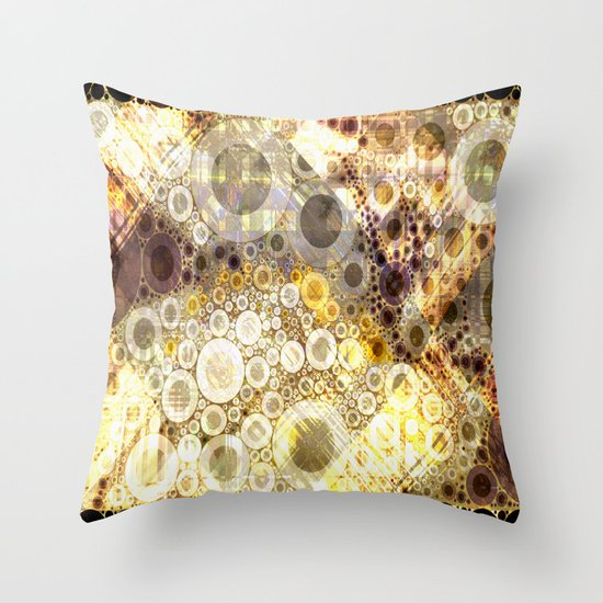 Kringles Chaos Throw Pillow