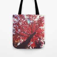 Loving You Was Red Tote Bag