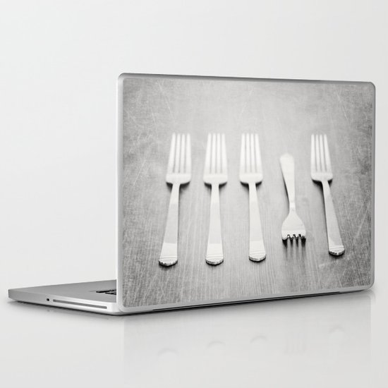 There's a fork in the road, but you never take it, always go the same way home... Laptop & iPad Skin